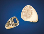 Image of UNH class rings